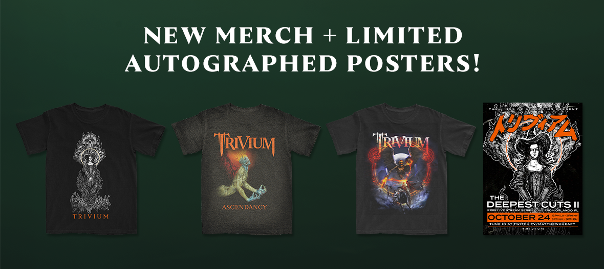 New Merch & Limited Autographed Posters